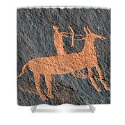 Horse And Arrow Shower Curtain