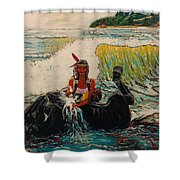 Horse Bath Shower Curtain
