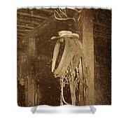 Horse Collar - Hat Shower Curtain