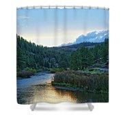 Horse Creek Shower Curtain