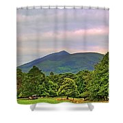 Horse Drawn Carriage At Muckross House Shower Curtain