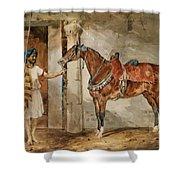 Horse Eastern Shower Curtain