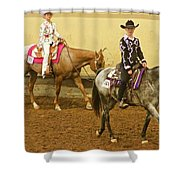 Horse Girls Shower Curtain