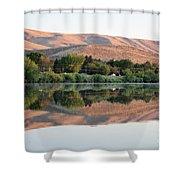 Horse Heaven Hills Sunset Shower Curtain