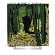 Horse In The Grass Shower Curtain