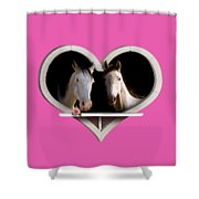 Horse Lovers Shower Curtain