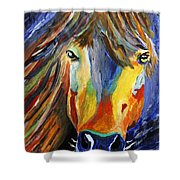 Horse One Shower Curtain