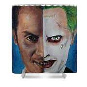 Moriarty And The Joker Shower Curtain