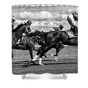 Horse Power 11 Shower Curtain