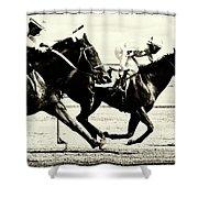 Horse Power 13 Shower Curtain
