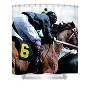 Horse Power 14 Shower Curtain