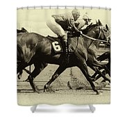 Horse Power 15 Shower Curtain