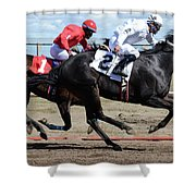 Horse Power 7 Shower Curtain