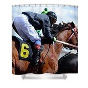 Horse Power 8 Shower Curtain