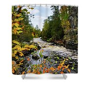 Horse Race Rapids 2 Shower Curtain