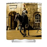 Horseguards. Shower Curtain