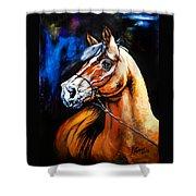 Horsehead Shower Curtain