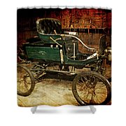 Horseless Carriage Shower Curtain