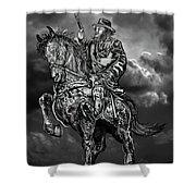 Horseman Shower Curtain