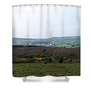 Horses At Lough Arrow County Sligo Ireland Shower Curtain