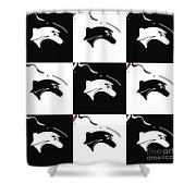 Fable Chess Shower Curtain