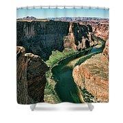 Horseshoe Bend Arizona Colorado River  Shower Curtain