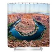 Horseshoe Bend Near Page Arizona Shower Curtain