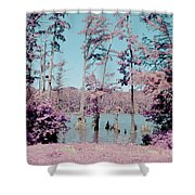 Horseshoe Conservation Area Infrared Shower Curtain
