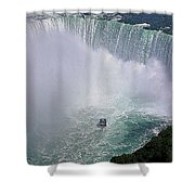 Horseshoe Falls And Maid Of The Mist Shower Curtain