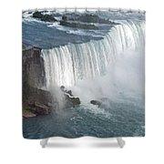 Horseshoe Falls At Niagara Shower Curtain