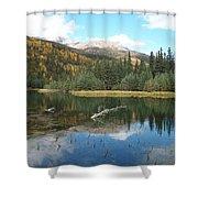 Horseshoe Lake Shower Curtain