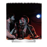 Horseshoes And Hand Grenades Turf Club Shower Curtain