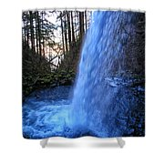 Horsetail Falls 2 Shower Curtain