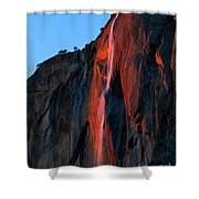 Horsetail Falls 2016 Shower Curtain