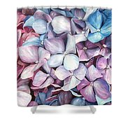 Hortensias Shower Curtain