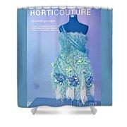 Horticouture Vogue Dress Exhibit Shower Curtain