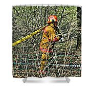 Hose Advance Shower Curtain