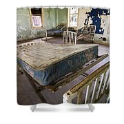 Hospital Bed Preston Castle Shower Curtain