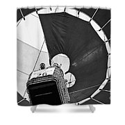Hot-air Balloon Shower Curtain