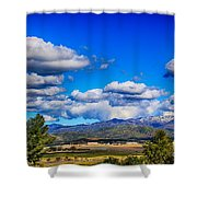 Hot Air Balloon Ride In Orange County Shower Curtain