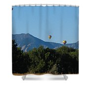 hot air balloons SCN M 23 Shower Curtain