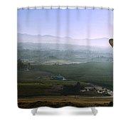 Hot Air Baloon Temecula Ca Shower Curtain