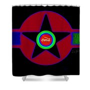 Hot Black Shower Curtain