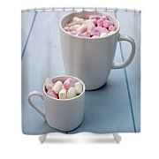 A Sweet Tooth Shower Curtain