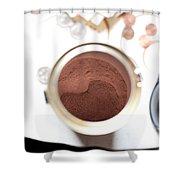 Hot Chocolate Shower Curtain