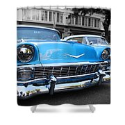 hot Classic Cheves Shower Curtain