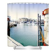 Hot Day Shower Curtain