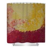 Hot Energy Shower Curtain