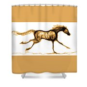 Hot Footed Shower Curtain