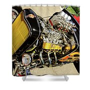 Hot Hotrod Shower Curtain